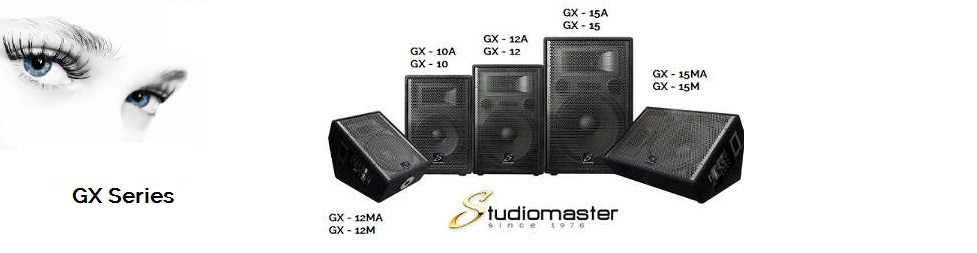 Studiomaster GX Series