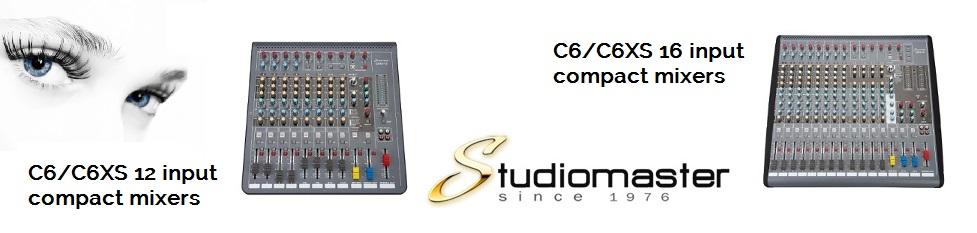 Studiomaster C6 / C6XS