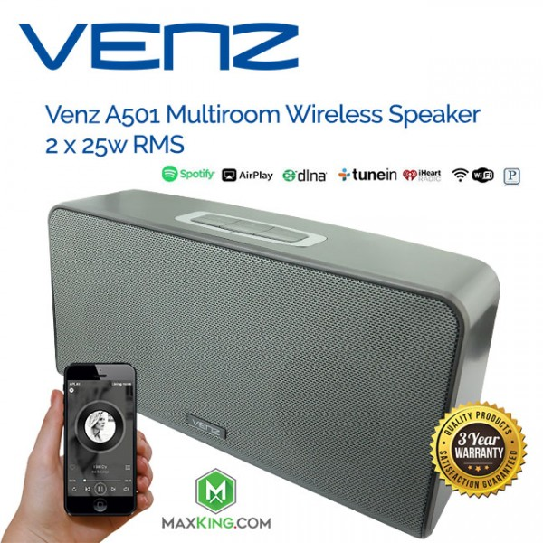 VENZ A501 MULTIROOM Smart Wifi Speaker 2